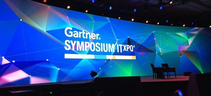 Gartner Symposium stage