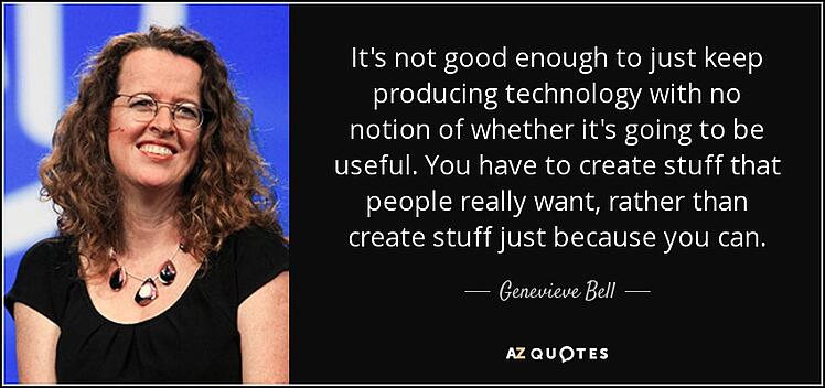 Genevieve Bell quote