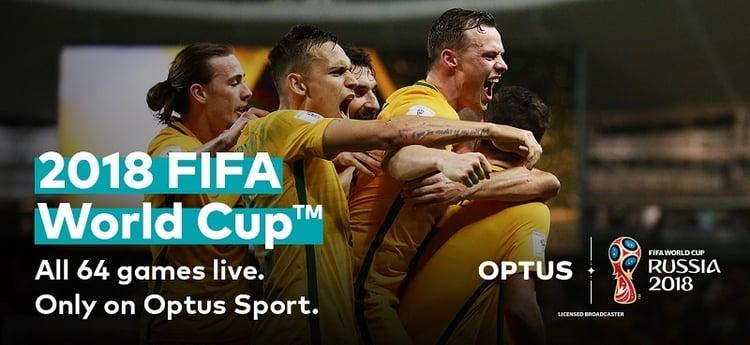 Optus FIFA world cup
