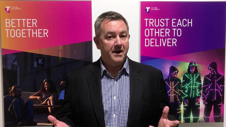 Mike Wright GM Networks Telstra