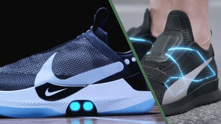 Nike Adapt BB v Puma Fi