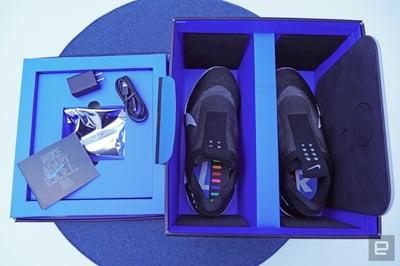 Nike Adapt in the box