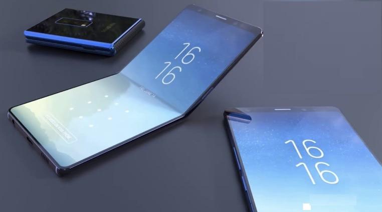 Samsung foldable phone 2018