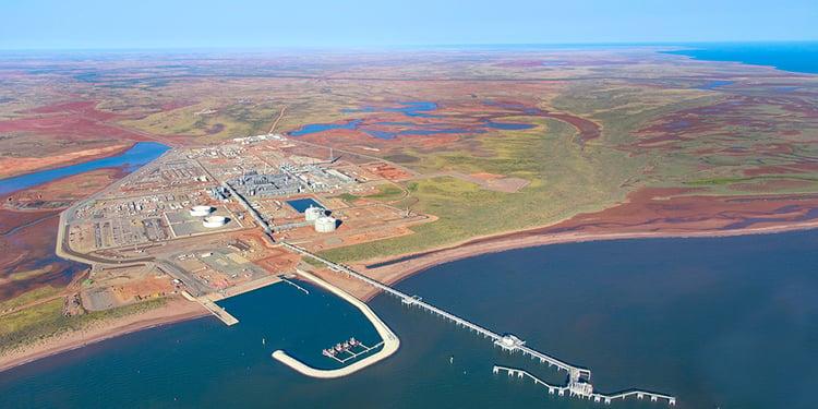 Wheatstone LNG plant