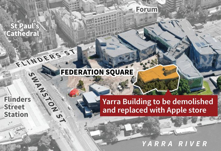 Yarra Building Federation Square