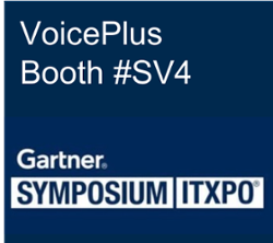 VoicePlus at Gartner Symposium 2018