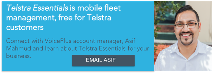 Email Asif at VoicePlus about Telstra Essentials